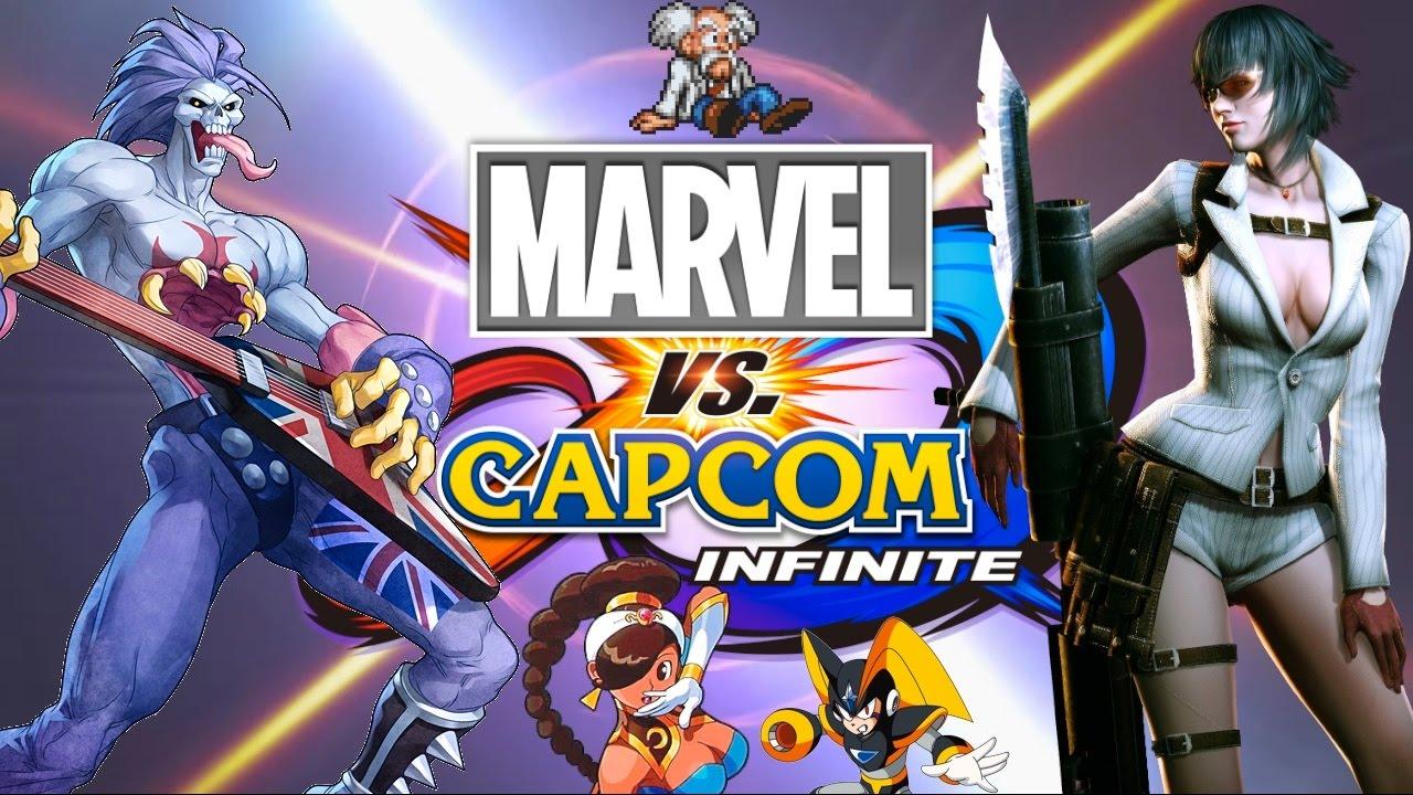 84a633c1591 Top Ten Capcom Characters that Should be in Marvel vs Capcom Infinite