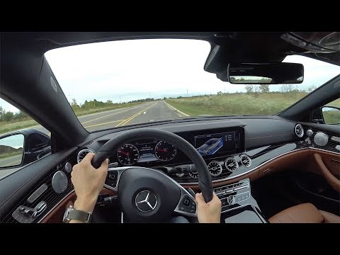 2018 Mercedes-Benz E400 4Matic Coupe - POV First Impressions (Binaural Audio)