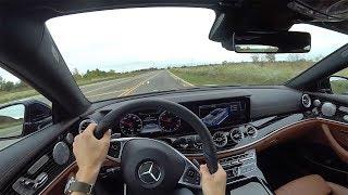 2018 Mercedes-Benz E400 4Matic Coupe - POV First Impressions (Binaural Audio)