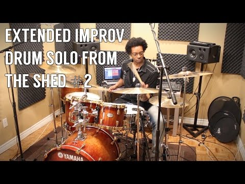 EXTENDED IMPROV SOLO From The Shed 2