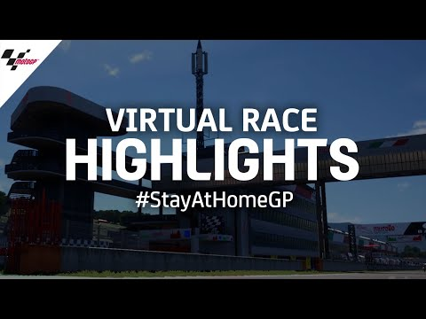 Virtual Race Highlights | #StayAtHomeGP