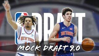 2020 NBA Mock Draft Simulator 9.0 | CM