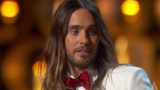 "Jared Leto - ""They don't give Oscars to people like me"""