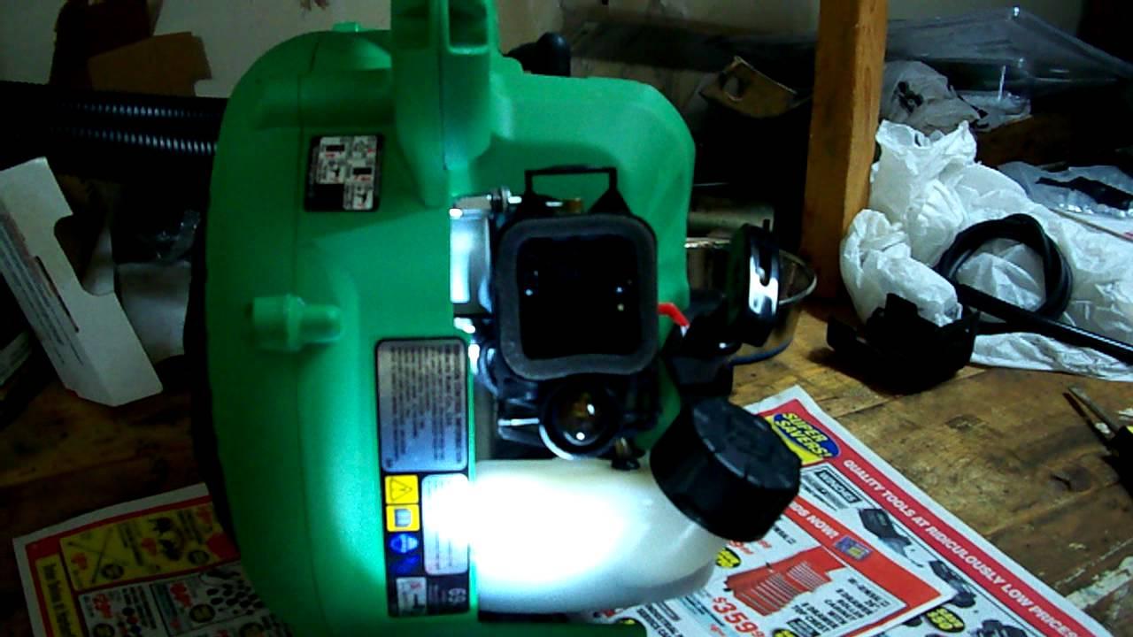 hitachi gas leaf blower. hitachi leafblower rb24eap quick fix for common starting problem. gas leaf blower i