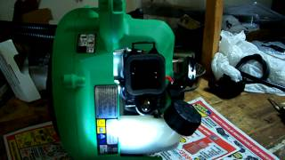 Hitachi leafblower RB24EAP quick fix for common starting problem.