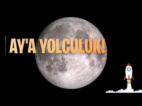 Ay'a Yolculuk (4K Çözünürlükte Ay Seyahati, NASA)