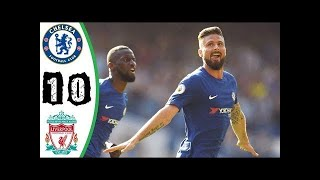 Chelsea vs Liverpool 1-0 Goals & Highlights - Resumen (May 2018)