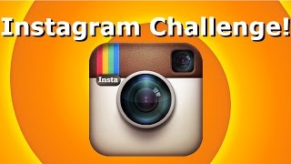 The Instagram Challenge! | Lewis Smith