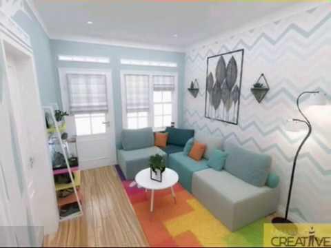 ruang tamu sempit?? intip dekorasi modern dan elegan untuk
