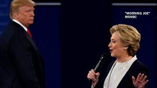 "Hillary Clinton recounts ""incredibly uncomfortable"" debate with Donald Trump"