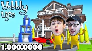 1.000.000€ HAUS IN WOBBLYS LIFE GEKAUFT! - Wobbly Life
