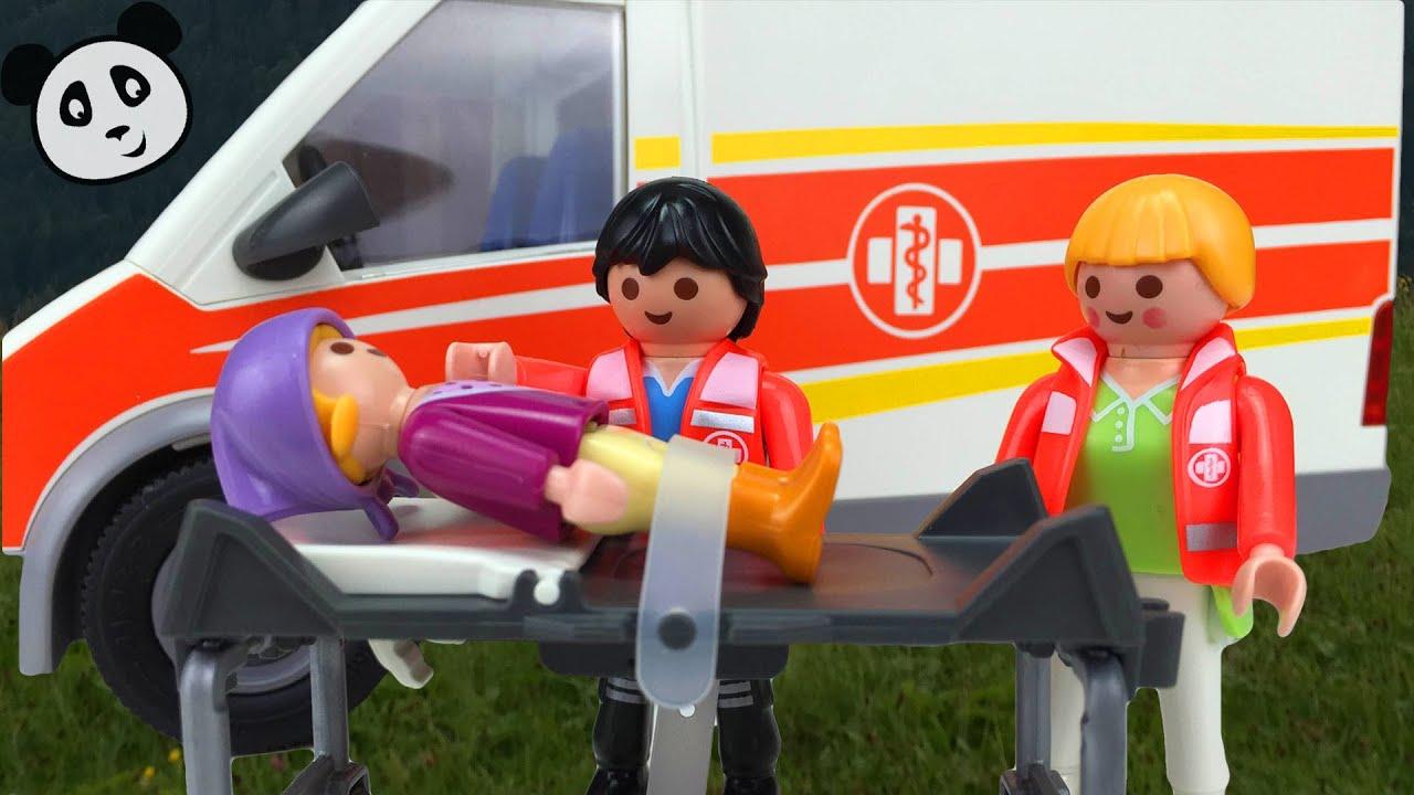 playmobil krankenwagen lisa ist krank pandido tv youtube. Black Bedroom Furniture Sets. Home Design Ideas