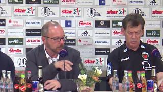Pressekonferenz: THW Kiel - Füchse Berlin, 14.05.2017