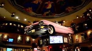 117. Жизнь в США - Ужин в Hard Rock Cafe! МЕНЮ, ЦЕНЫ, обстановочка... Орландо Флорида