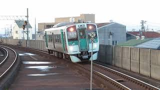 高徳線1500形 佐古駅到着 JR Shikoku Kotoku Line 1500 series DMU