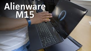 Alienware M15 hands-on: New design. Just as powerful.