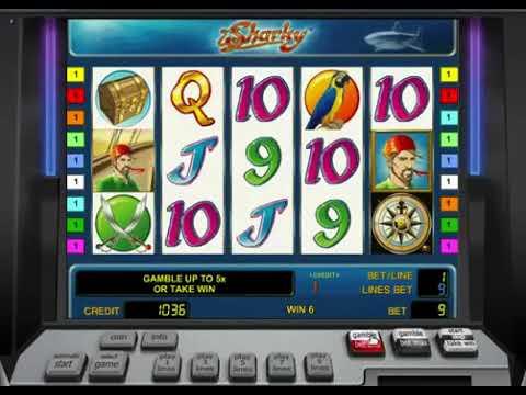 Выигрыш в казино Вулкан в автомат Шарки. Игра в казино бесплатно без регистрации.
