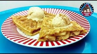 Waffle Apple Pies