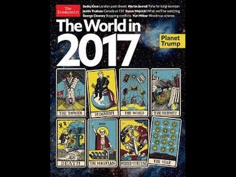 The Economist Tarot Plot: Bullet Catch, Assassination of Donald Trump/David Blaine, Art of Deception