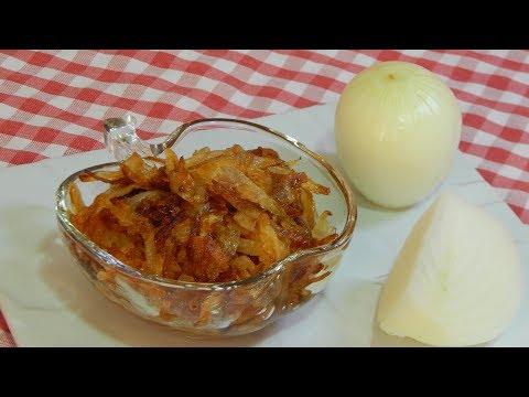 Cómo hacer cebolla caramelizada (sin azúcar añadido)