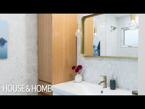 Makeover: Small Modern Family Bathroom Reno