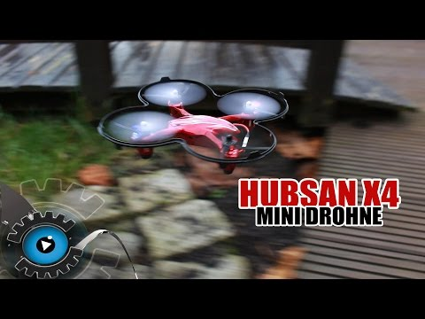 Hubsan X4 & Yi Zhan Mini Drohnen für Zuhause REVIEW [Deutsch]