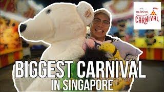 BIGGEST CARNIVAL IN SINGAPORE (Prudential marina bay carnival)