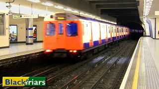 London Underground: Blackfriars | Circle - District lines (D78 Stock - S7 Stock)