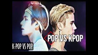 POP VS K-POP :3