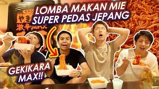 Download lagu LOMBA MAKAN MIE SUPER PEDES JEPANG GEKIKARA MAX END! BARENG WASEDA BOYS!
