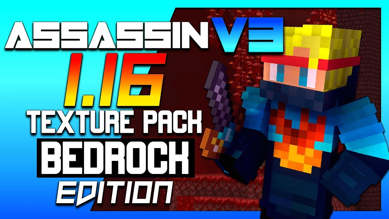 Assassin Pack V3 [1.14-1.16 Survival Texture Pack For MCPE/Windows10]   Minecraft Hindi
