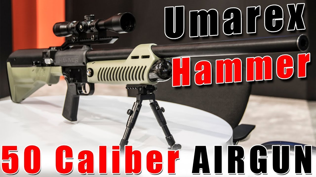 Umarex Unveils Most Powerful Airgun in the World: The 50-Caliber HAMMER