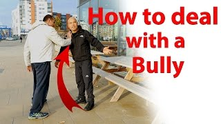 how to deal with a bully -  wing chun