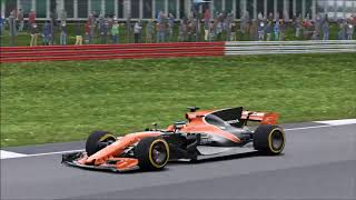 F1 2017: This is REAL racing!... (Three Wide!!!) | British GP | Career Mode