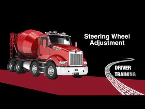 Kenworth T360 Steering Adjustment