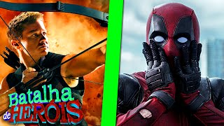 Download & Watch Minecraft Video Mp3 Mp4: GAVIÃO ARQUEIRO vs DEADPOOL - BATALHA DE HERÓI