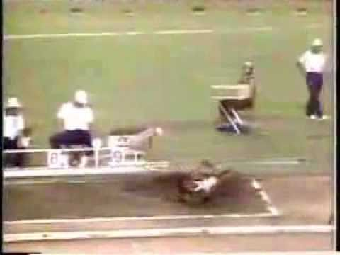 Mike Powell vs Carl Lewis   Long Jump   World Record