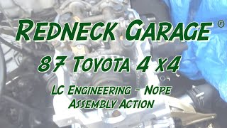 LC Engineering - A Joke - Re-Assembly 22RE Engine - The Struggle