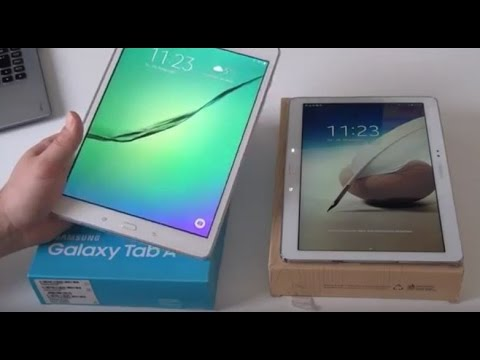 samsung tablet vergleich review galaxy tab a vs note 10 1. Black Bedroom Furniture Sets. Home Design Ideas