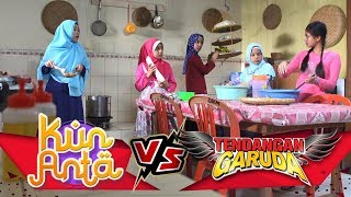 GOKILZ!! Santri Bengong Liat Skill Masak Melani  - Kun Anta VS Tendangan Garuda