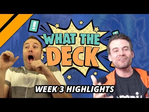 [Highlight] What The Deck Week 3 - Day[9] v Brian Kibler | Big Creatures vs Big Spells | MTGA