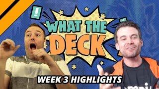 [Highlight] What The Deck Week 3 - Day[9] v Brian Kibler | Big Creatures vs Big Spells | MTGA