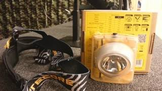 видео Налобный фонарь Nitecore EH1 (260 люмен)