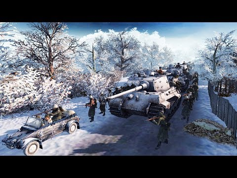 The Battle of The Bulge 1944 | American Defense Build | RobZ Realism | Men of War: Assault Squad 2