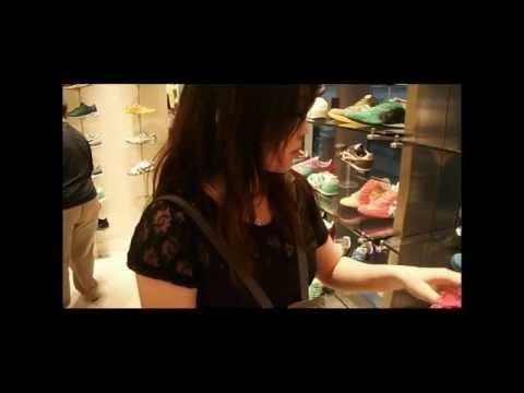 เที่ยวฮ่องกง Hong Kong ช๊อป Onitsuka ที่ห้าง K11