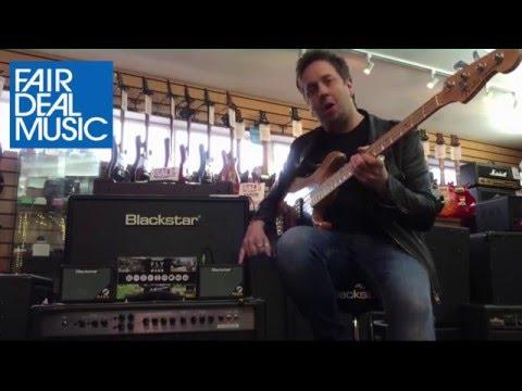 Blackstar Fly 3 Stereo Bass Demonstration with Steve Marks