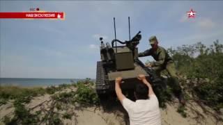 Новейший боевой робот перевернулся на испытаниях