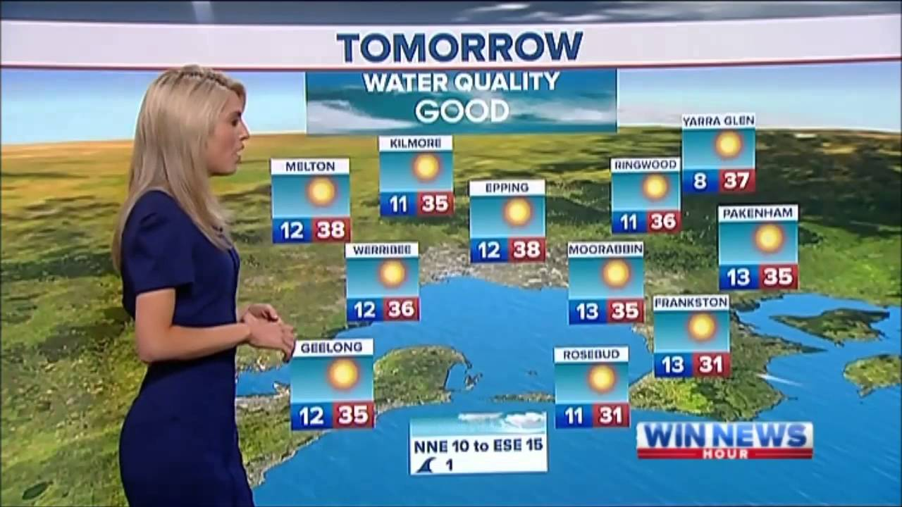 Nine News Melbourne Weather And Closer 2 01 2013 Youtube