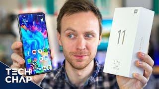 Xiaomi Mi 11 Liteの開梱と印象-過去に立ち往生?