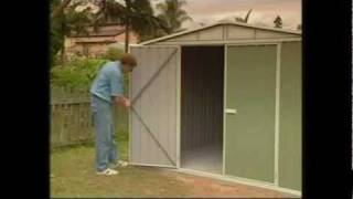 Garden Sheds Easy & Fast Snaptite Assembly System - Absco